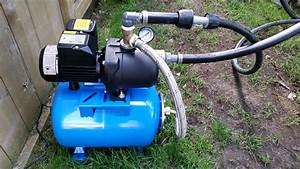 Packer Jet Pump Goulds Problems Video Everbilt Hp With Gallon Pressure Tank Hooked Up To Poly