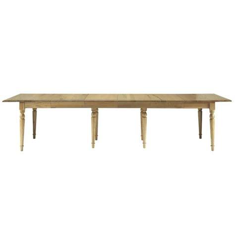 table de salle 224 manger 224 rallonges en ch 234 ne massif l 100 cm atelier maisons du monde