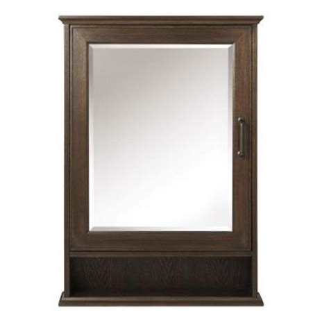 home depot medicine cabinet with mirror home decorators collection walden 24 in w x 34 in h