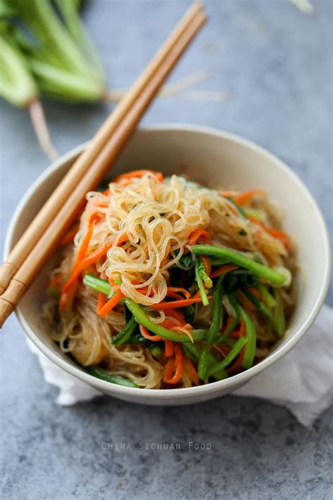 how to cook bean thread noodles cellophane noodles noodle salads and mung bean on pinterest