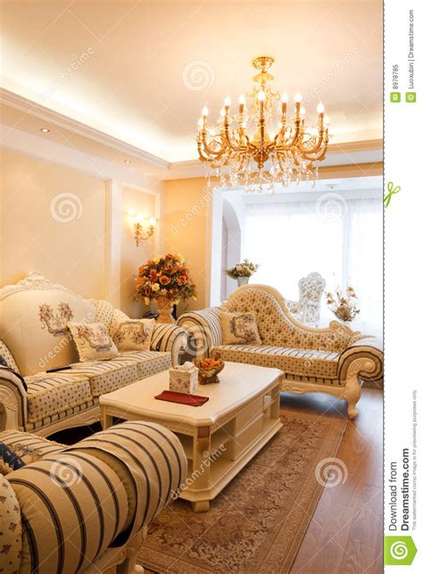 luxury expensive living room interior royalty  stock