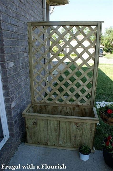 Movable Trellis by 1000 Images About Portable Privacy Fences On