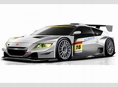 Honda CRZ Race Car to Compete in Japan's Super GT Series