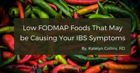 Don't be discouraged, because this doesn't bring you back to square constipation is a little more complicated. Low FODMAP Foods That May be Causing Your IBS Symptoms - Katelyn Collins, RD