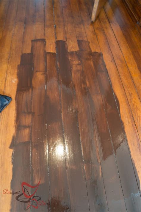 can i stain laminate flooring using gel stain existing stained wood designed decor 8046