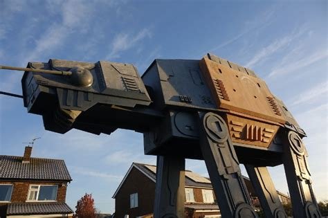 colin furze builds  foot star wars  act playhouse