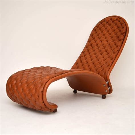 chaise verner panton antiques atlas leather chaise lounge by verner panton