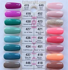 Cnd Shellac Colour Chart Daisy Duo Swatches 415 446 423 Glitter For You Is Soooo