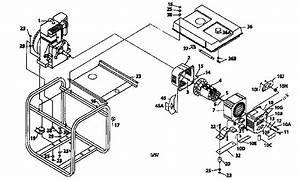 Coleman Model Pm0545202 Generator Genuine Parts