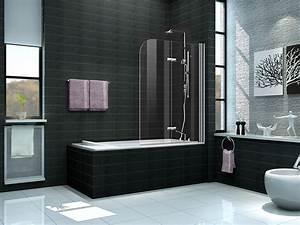 Duschwände Für Badewanne : 2 tlg 120 x 140 badewannen faltwand aufsatz duschwand duschabtrennung duschwand ebay ~ Buech-reservation.com Haus und Dekorationen