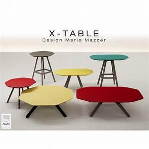 Table D Appoint Salon : table d 39 appoint pour salon hall et salle d 39 attente x table pi tement acier plateau couleur peint ~ Melissatoandfro.com Idées de Décoration