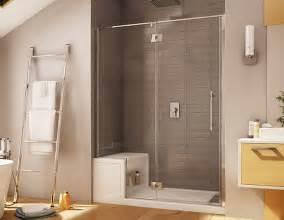 Stone Shower Bases by Platinum Pour Installation En Alc 244 Ve Avec Banc