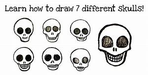 How To Draw Skulls  Easy Step