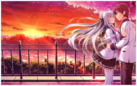 romantic anime wallpapers wallpapersafari