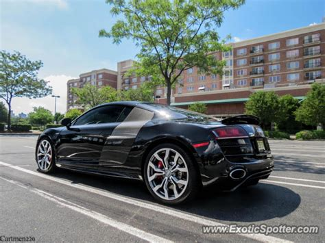 Audi R8 Spotted In Edgewater, New Jersey On 07062013