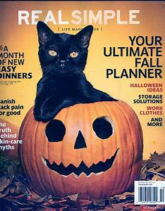 Vintage, Halloween, Collector, Real, Simple, October, 2013, Issue