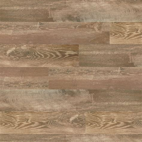 shop style selections timber cinnamon wood look porcelain floor and wall tile common 8