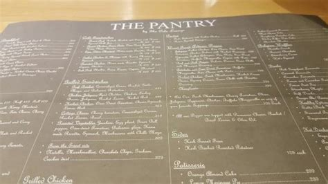 The Pantry Cafe Menu The 10 Best Restaurants Near Of Lahore