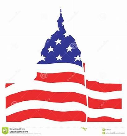 Washington American Senate Illustration Congress Clipart Dc