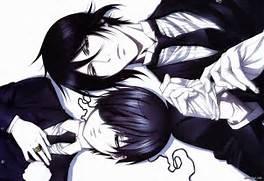 Black Butler Sebastian And Ciel Love