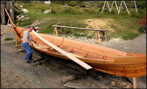 Viking Boats Information by Vikings 8 Boat Builder A Photo From Nordland