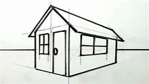 How to Draw a House in 3D for Kids - Easy Things to Draw ...