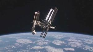 """ISS with Space Shuttle """"Endeavour"""" and ATV-2 Docked - YouTube"""