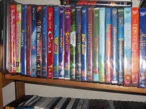 My Disney DVD Collection