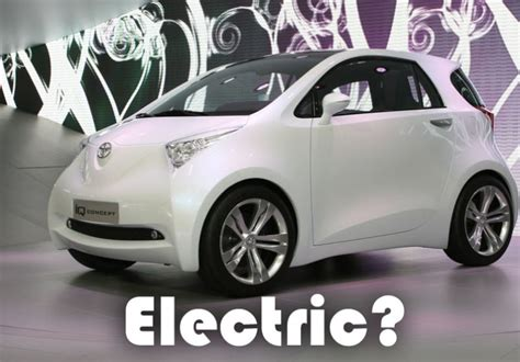 New Small Electric Car by Toyota To Unveil Small Electric Car Concept At Detroit