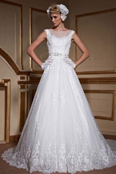 Kaufen sie brautmutter kleider jetzt zum kleinen preis online auf lightinthebox.com! Günstig 2016 Luxus Prinzessin Weiß Ärmellos Boot ...