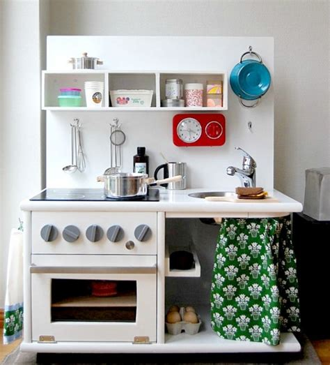 play kitchen from furniture 5 cool kids diy kitchen sets