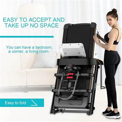Treadmill Machine Folding Electric Running Multi A6