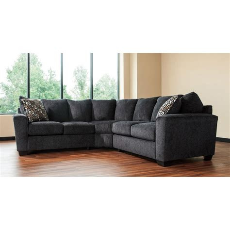 benchcraft sectional reviews wixon slate sectional benchcraft furniture cart 1583
