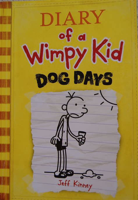 Diary Of A Wimpy Kid Dog Days Book