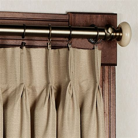 crosby pinch pleat wide curtain pair 144 x 84 touch of class