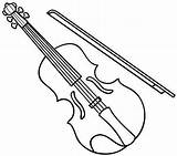 Instruments Musical Coloring sketch template