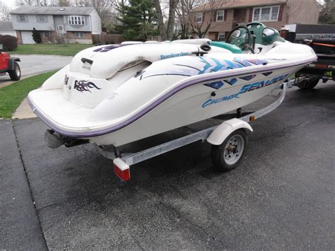 Sea Doo Jet Boats For Sale Maryland by Sea Doo Challenger 14 1996 For Sale For 500 Boats From