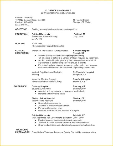 Registered Resume Template by 80 New Photos Of Sle Resume For Registered In