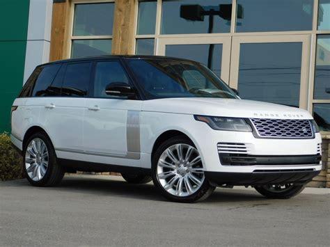 Land Rover Range Rover 2019 by New 2019 Land Rover Range Rover Wagon 4 Door 4 Door Suv In