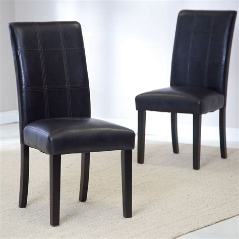 furniture blue parsons chairs for contemporary
