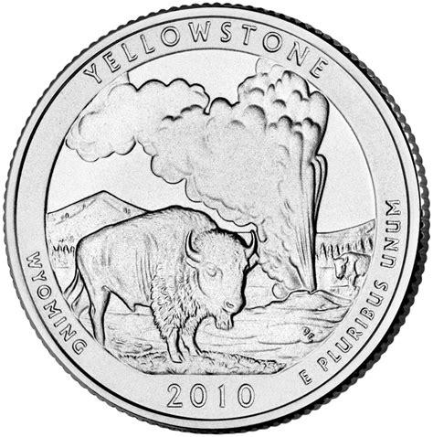 state quarters 188 dollar washington quarter yellowstone wyoming silver proof united states numista