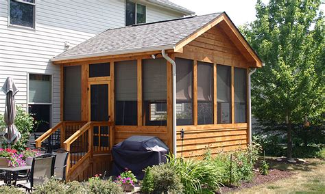 screened porch build services deck masters  columbus