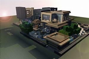 Minecraft Modern Beach House Blueprints 09 | Minecraft ...