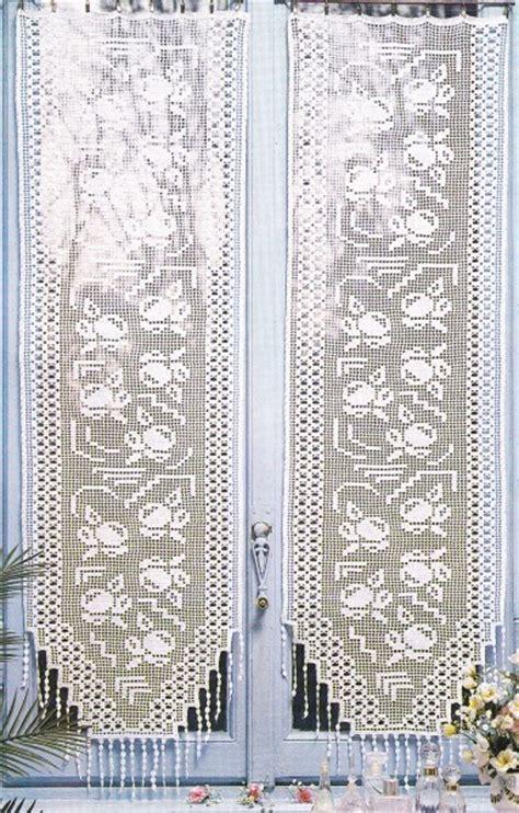 crochet rideaux le de crochet et tricot d de suzelle