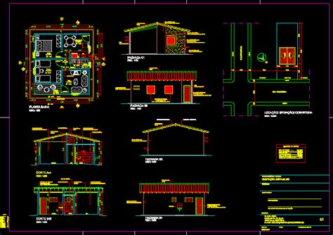 popular housing dwg full project  autocad designs cad