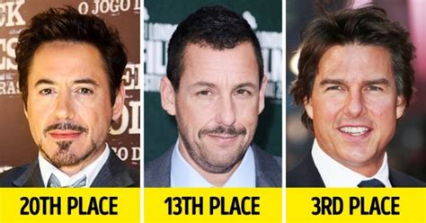 The 20 Richest Actors Of Modern Times, Some Of Which