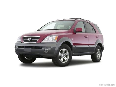 2005 kia sorento suv specifications prices