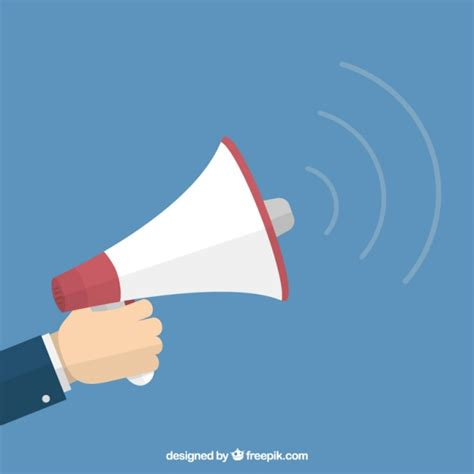 Megaphone Loudhailer Speaker 183 Free Vector Graphic On Pixabay Holding A Megaphone Vector Free