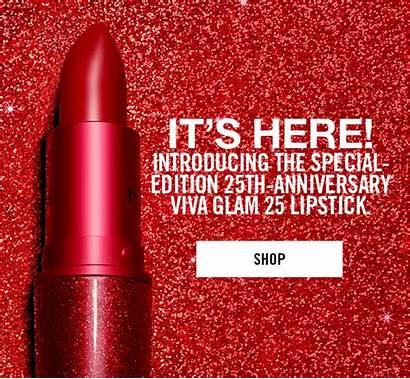 Mac Cosmetics Lipstick Canada Viva Glam Anniversary