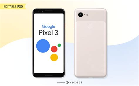 Photoshop mockup to give a boost to your designer life. Google Pixel 3 PSD mockup - Vector download
